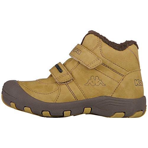 Kappa Unisex-Kinder Solid TEX Klassische Stiefel, Beige/Brown 4150, 29 EU
