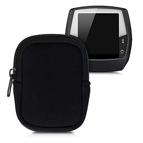kwmobile Tasche kompatibel mit Bosch Intuvia - E-Bike Computer Neopren Hülle - Schutztasche Schwarz