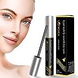 Wimpernserum Augenbrauenserum mit Pflanzlichen Zutaten, Eyelash Growth Serum für Schnelles...