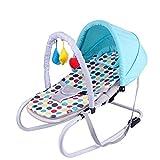 Daxiong Cama Infantil para niños pequeños mecedoras para balancines Balance Soft Silla Mecedora para bebés Cuna portátil (Color: Rosa),A