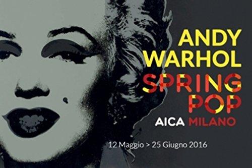Andy Warhol MARILYN MONROE Poster Cartel para la exposicion italiana de 2016 (70x100cm)