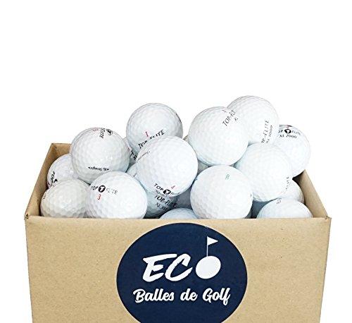 Top-Flite Lakeballs Lote de 100 Pelotas de Golf (categoría AAA)