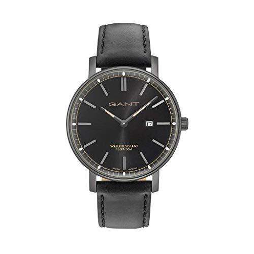 Gant Reloj Analógico para Hombre de Cuarzo con Correa en Cuero 7630043916797