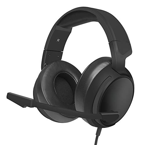 ZDY With Microphone Player Headset Campus Headset with Transmitter Activity Headset Game Player,Black single 3.5