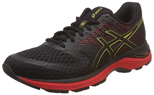 Asics Gel-Pulse 10 1011a604-001, Zapatillas de Entrenamiento Hombre, Negro, 42 1/2 EU