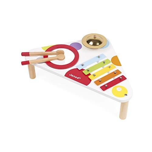Janod - J07634 - Table Musicale Confetti