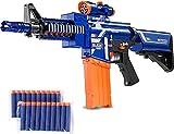 FREEHM Juguetes de Modelo Militar, Juguete de Pistola de Bala Suave de Francotirador eléctrico - Restauración de tamaño Completo 1: 1, Lucha de 10 ráfagas de niños, Disparos interactivos