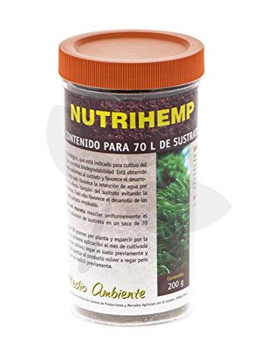 Abono Organico 100% BIO Trabe Nutrihemp para sustrato (200g)