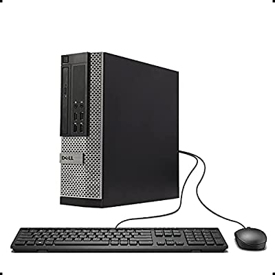 Dell Optiplex 9020 SFF High Performance Desktop Computer, Intel Core i7-4790 up to 4.0GHz, 16GB RAM, 960GB SSD, Windows 10 Pro, USB WiFi Adapter, (Renewed) by Dell Computers