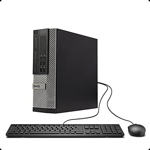 DELL Optiplex 9020 Small Form Business Desktop Tower PC (Intel Quad Core i7 4770, 16GB Ram, 240GB Brand New SSD, WIFI, Dual Monitor Support HDMI plus VGA, DVD-RW, WIFI) Win 10 Pro (Renewed)']