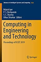 Computing in Engineering and Technology: Proceedings of ICCET 2019 (Advances in Intelligent Systems and Computing, 1025)
