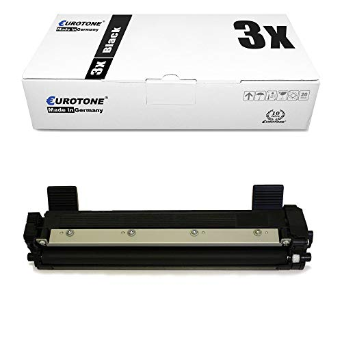3x Eurotone Toner Cartridge for Dell E 310 514 515 dw dn replaces 593-BBLR 2RMPM Black 593BBLR Black