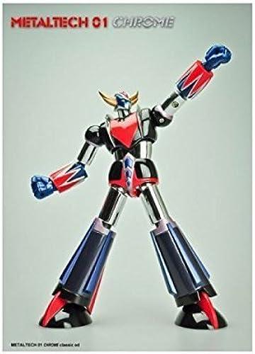 grandes precios de descuento UFO Robot Grendizer Metaltech 01' 6  Die Die Die Cast Chrome Action Figure by Animewild  tienda en linea