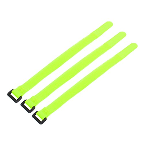 Aexit 30 cm Länge Nylon Abnehmbarer Verschluss Schleife Krawattenband Gürtel Kabel Organizer Gelb 3 stücke (d17ddff841907b817fb99d6e44af9eba)
