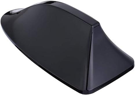 XQRYUB Antena de Aleta de tiburón de plástico Negro para ...
