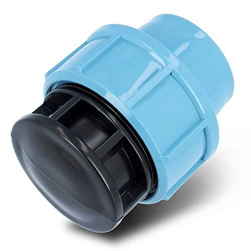 PE Stopfen Endkappe 32 mm PN 16 Klemmverbinder Für PE Rohr Verschraubung   Kunststoff Klemmkupplungen Wasserrohrstopper Trinkwasser   Bewässerungssystem Fitting Kupplung Endstück Werkzeuglose Montage