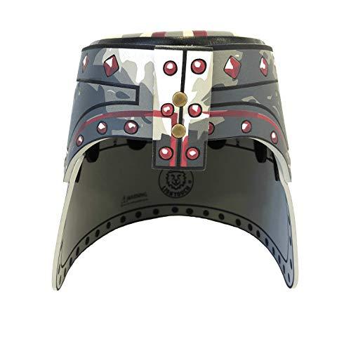 Liontouch 150LT Middeleeuwse Malteser Kruis ridder speelgoed schuimrubber helm voor kinderen | deel van kostuum met zwaard