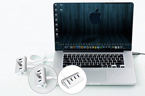 『Cateck 2スロットカードリーダーコンボ搭載バス電源供給 USB 3.0 3ポートハブ (iMac、MacBook Air、MacBook Pro、MacBook、Mac Mini、PC、ラップトップ対応)』の2枚目の画像