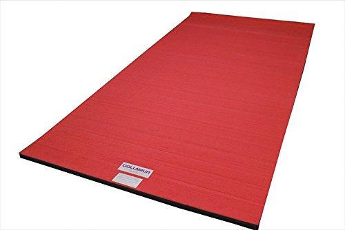 Dollamur 10'x5'x2 Flexi-Roll Carpeted Cheer/Gymnastics Mat