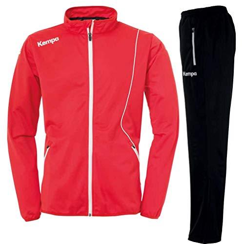 Kempa Trainingsanzug Classic rot/schwarz (S)