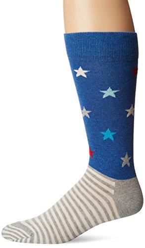 Happy Socks Mens Star Stripe Socks