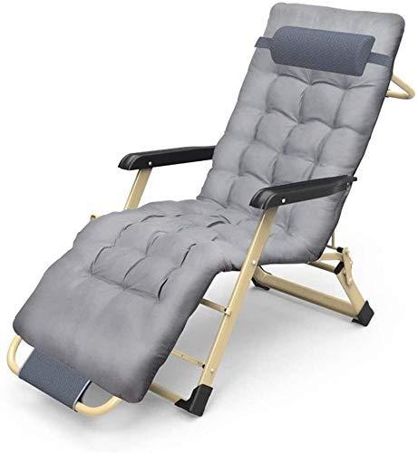 WDHWD - Sillón reclinable, silla reclinable al aire libre, mecedora de jardín para exteriores, silla de relax, sillón reclinable, tumbona de playa (dimensiones: con embudo)