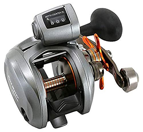 Okuma Coldwater 350 Low Profile Linecounter Reel CW354D, Right Hand