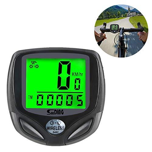 GPS Bicicleta MontañA Ordenador Bicicleta Ciclocomputador Velocimetro GPS Ciclismo Velocimetro Bicicleta InaláMbrico...