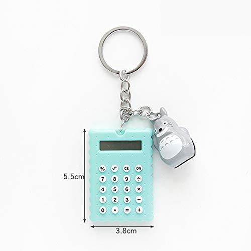 XBAO Wetenschappelijke rekenmachine, mini, draagbaar, sleutelhanger, ontwerp standaard rekenmachine