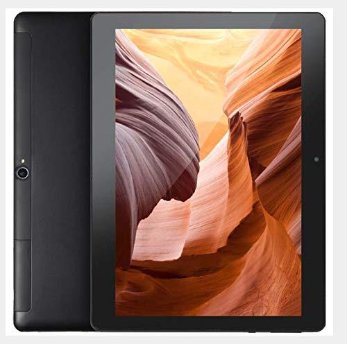 FGZ Tablet 10.1 Pulgadas Portátil con Android 10.0, 4GBRAM/64GBROM Tablet Ultra-Rápido de 1.6GHZ Velocidad,Certificación Google gsm Negro