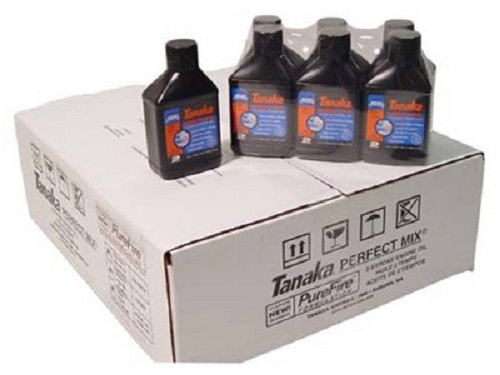 Tanaka 700207 6.4 oz Perfect Mix 2 Cycle Engine Oil - Quantity 36