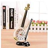 LKJH Digital alarm clock Tischuhr Student Violine Geschenk Home Decor Geige Wecker Schreibtisch Handwerk