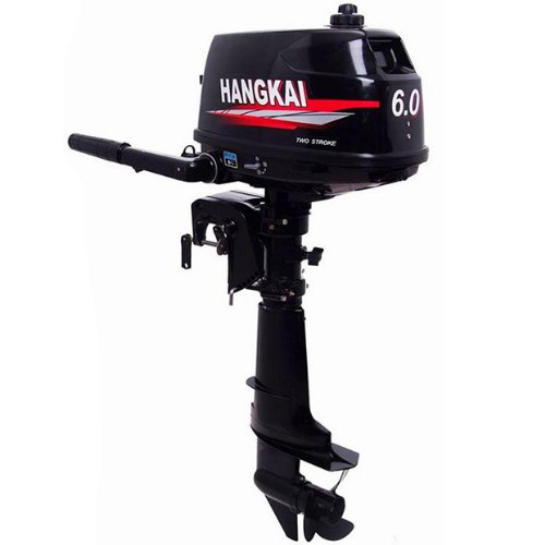 SEA DOG WATER SPORTS Outboard Motor 2 Stroke Inflatable Fishing Boat Engine … (6 HP)