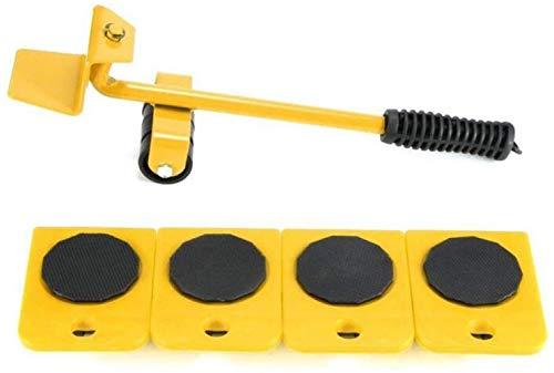 genneric Möbel Umzug Roller Set/Transport Möbel Lifter, Move bis 150 kg / 330 LBS, 5 Stück Universal-Rad-Arbeitsersparnis Werkzeugrolle Tragen