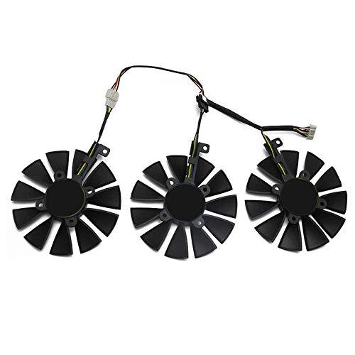 Cobeky PLD09210S12M PLD09210S12HH Ventola di Raffreddamento Sostituire Raffreddatore per Strix GTX1060 OC 1070 1080 GTX1080Ti RX480 Immagine Card Fan