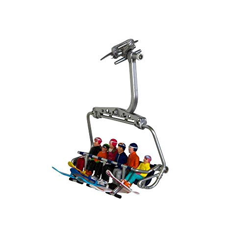 Jaegerndorfer jaegerndorferjc54500Sentado Figuras con Cabeza de Snowboard (Juego de 6)
