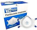 Tintele 10x PCS Atemschutzmaske FFP3 Maske 9301V NR CE 1463 Mund und Nasenschutz