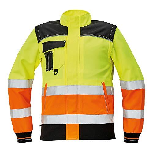 pantaloni arancione//nero taglia 56 confezione da 20 CERVA 0302 0330 A2 Knoxfield HV