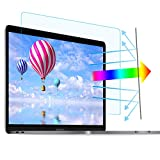 2 Pack 15.6 in Laptop Anti Blue Light Screen Protector - Blue Light Blocking & Anti Glare Filter Film Eye Protection for 15.6' Display 16:9