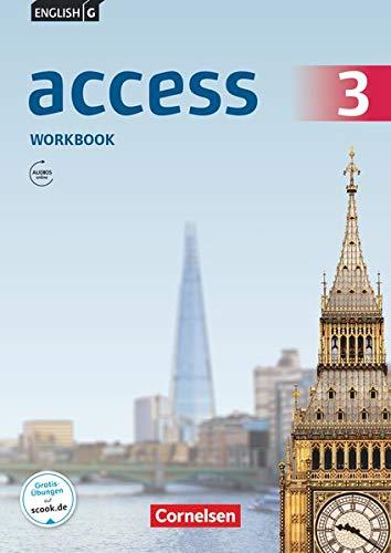 English G Access - Allgemeine Ausgabe / Band 3: 7. Schuljahr - Workbook mit Online Audio-Materialien: Workbook mit Audios online (Access: Allgemeine Ausgabe 2014)