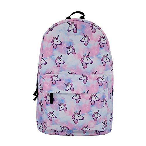 Backpack Unicorn Student Schoolbag Traveling Backpack 3D Printing/27 * 10 * 42cm 42 * 27 * 10cm SJB6009