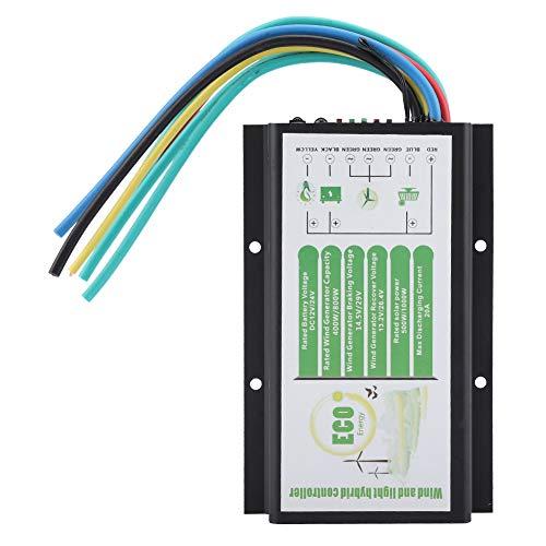 Viento y Solar Controlador Híbrido Regulador de Viento DC 12V / 24V Panel Solar de Turbina Eólica 400W / 800W