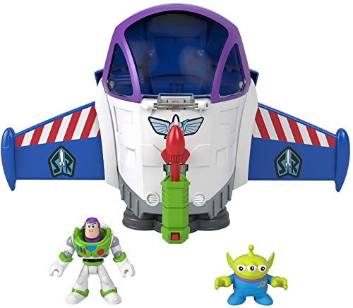 Fisher-Price Imaginext Disney Pixar Buzz Lightyear Space Mission Playset