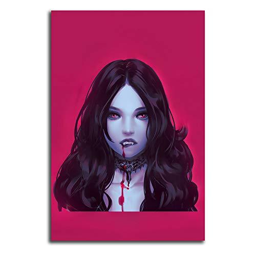 Trelemek Póster de Vampire The Masquerade Bloodlines 2 obras de arte de 40,6 x 60,9 cm para videojuegos, póster artístico para sala de estar o dormitorio, sin marco