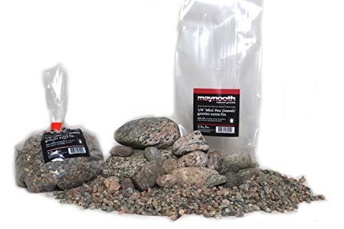 Maynooth Natural Granite Kit de roca de acuario de gneis granítico de 10 galones (9 kg)