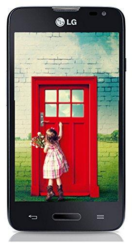 LG L65 Smartphone (10,9 cm (4,3 Zoll) True IPS-Bildschirm, 1,2-GHz-Dual-Core-Prozessor, 5 Megapixel-Kamera, Android 4.4) schwarz