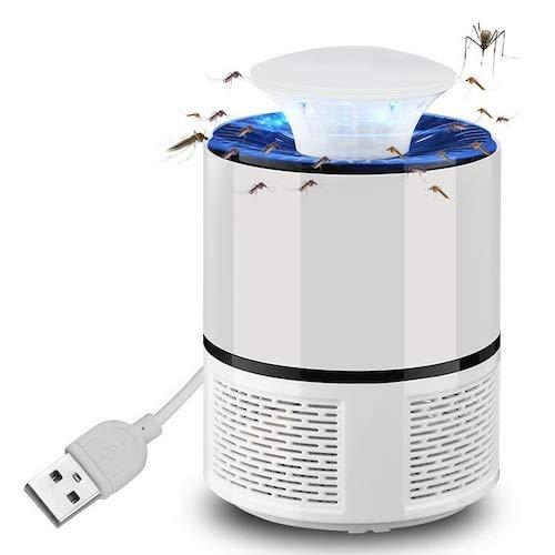 WZhen Hnw - 018 USB Alimentado Led Trampa De Iluminación Mosquito Killer Lámpara - Blanco