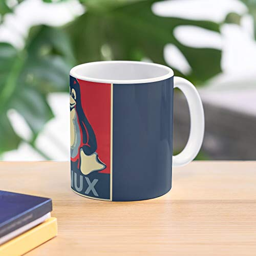 Allbirds Mug Linux Penguin Poster Obama Tux Best 11 oz Kaffeebecher - Nespresso Tassen Kaffee Motive