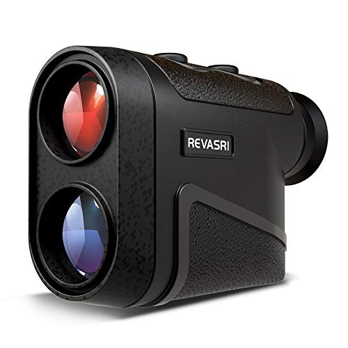 Laser Rangefinder for Hunting, Golf,Target Shooting, Archery, 8X Magnification 1800 Yards, Angle Compensation, Long Range Shooting Rangefinders , Continuous Scan Range Finder with Battery