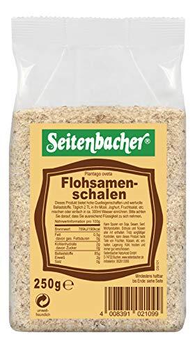 Seitenbacher Flohsamenschalen naturrein Diät / Ei-Ersatz, 1er Pack (1 x 250 g)